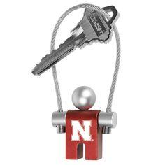 Nebraska Cornhuskers NCAA Jumper Keychain