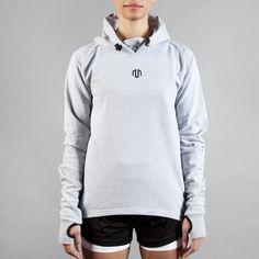 NAKA Comfy Performance Hoodie Light Grey  #grey #brand #fashion #gym # fitness #gymwear #fitnesswear #gymclothes #womenswear #sporty #sport #sportswear #lightgrey #hoodie