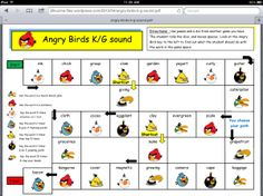 Angry Birds Articulation Games -  Pinned by @PediaStaff – Please Visit http://ht.ly/63sNt for all our pediatric therapy pins
