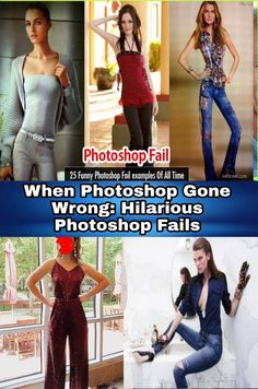 When Photoshop Gone Wrong: Hilarious Photoshop Fails