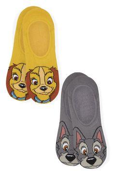 Primark - Susi und Strolch Disney Socken, 2er-Pack