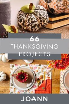 Browse hundreds of Thanksgiving craft ideas for the big feast! JOANN can inspire you with crafts featuring easy projects with simple online instructions Christmas Deco, Christmas And New Year, Christmas Crafts, Thanksgiving Projects, Fall Projects, Berry Garland, Coffee Sleeve, Apple Crisp, Fun Crafts