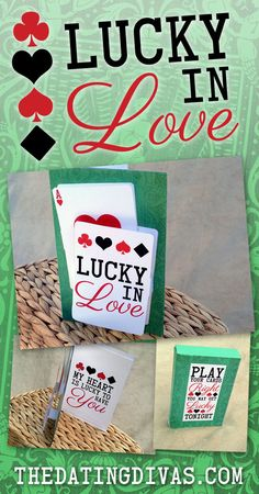 This is such a cute card to surprise the hubby with on St. Patrick's Day. Can't wait! www.TheDatingDivas.com Lucky In Love, Lucky Day, Reasons I Love You, 52 Reasons, Geek Games, Dating Divas, Single Mom Quotes, St Patricks Day, St Pattys