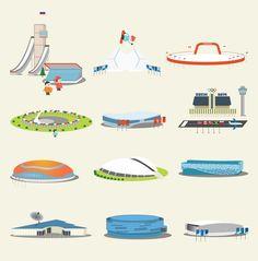 Sochi interactive map