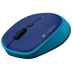 Мишка LOGITECH M335 безжична синя