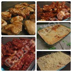 LENDENTOPF MIT BACON UND CHAMPIGNONSAUCE Rezept: http://babsiskitchen-foodblog.blogspot.de/2015/11/lendentopf-mit-bacon-und-champignonsauce.html