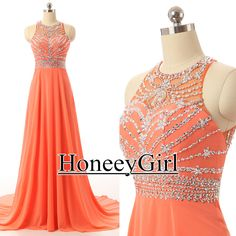 100% Real photos, for more details pictures, please contact us.This is handmade dress with beaded sequins,so gorgeous dress.Fabric: chiffonColor: As Picture/Custom ColorWorking time: 10 daysShipping T..