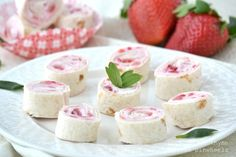 Strawberries & Cream Pinwheels