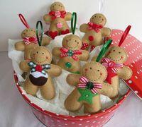 La belleza de las decoraciones de Navidad hechas a mano |  Blog fieltro