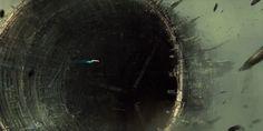 Omega debris field by ChrisCold.deviantart.com on @deviantART