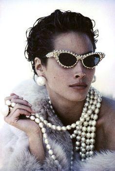 Christy Turlington, Vogue Dec. 1989