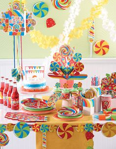 Candy Land Party Theme Decorations   candy birthday party decorations