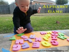 Alphabet Game {Learning Activity}
