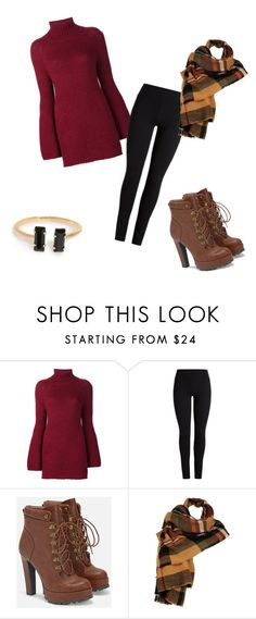 """""""Untitled #46"""" by gracemayflower ❤ liked on Polyvore featuring Rosetta Getty, JustFab and Wilsons Leather"""