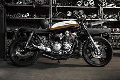 """In 1979, as the first Honda CB900 Bol d'Dors were rolling off the production line in Japan, the legendary American director Martin Scorsese was on set making his masterpiece """"Raging Bull"""". Staring Robert De Niro and Joe Pesci, it's a black and white tale of Boxing and the Mafia in 1940's America. It had all the subtly of a sledgehammer. So for Bullitt Garage's heavy hitting, rebellious big block Honda it made for the perfect name and with Gonçalo strapping on the gloves and Luis in his…"""