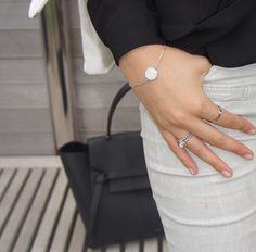 Tiny Silver Details - For More Fashion Pictures Check Out @fashionbymnp on Instagram or fashionbymnp.blogspot.co.uk