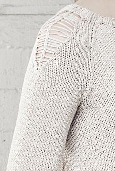 Naisen neulepusero Novita Kaisla | Novita knits