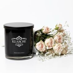 If you haven't yet smelt our Kearose Soy Candles this one is a must! French pear and vanilla - a delicious take on the classic French Pear scent.  The addition of sweet vanilla brings a sweet and creamy scent throw to the rich juicy and meltingly smooth base note of the French Pear.  From $28 >>> check them out online now www.forkeeps.co.nz