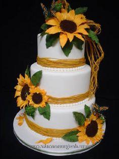 How to do it yourself modern wedding cakes recommendation http tips diy sunflower wedding cakes ideas httpweddingcakeideasunique solutioingenieria Images