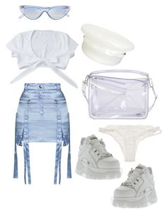 """""""Hey Sailor!"""" by sophiaaceleste ❤ liked on Polyvore featuring Topshop, Manokhi, Loewe and For Love & Lemons"""