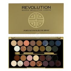 Makeup Revolution - Lidschattenpalette - Fortune Favours the Brave - Kosmetik & Falsche Wimpern