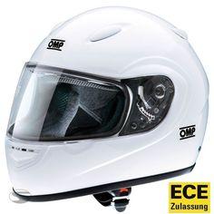 ece Size Xl Ingenious Open Face Helmet Omp Racing Black Matt Limited Edition