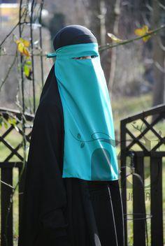 Ninja-Niqab Helltürkis