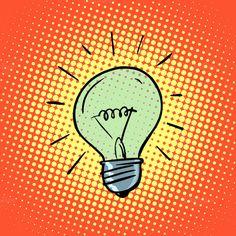 Light bulb electricity symbol ideas by studiostoks on Creative Market
