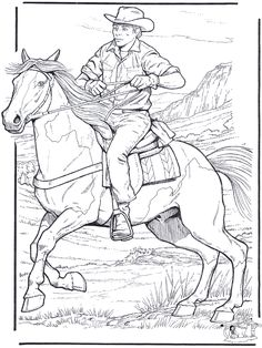 This is a detailed horse coloring page of a Winnebago Native American Warrior with his horse. Description from dressyourhorse.com. I searched for this on bing.com/images