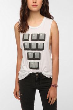Check out this Corner Shop Out Of Control Muscle Tee (UrbanOutfitters) :)