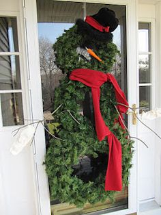 Sew Many Ways...: Christmas Home Tour 2011...Front Door To The Back