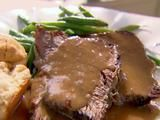 Trisha Yearwood's Roast Beef with Gravy Recipe - Sans Gravy for Low Carb