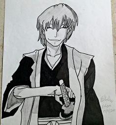 Gin Ichimaru Drawing
