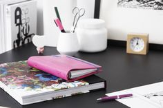 Take your personal organizer to a whole new level of fashion with Filofax Apex in Pink!