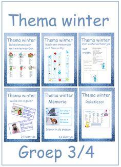 Thema winter - Digibord Onderbouw