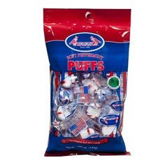 candy peppermint puffs 4.5 oz Case of 60