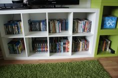 Magic Cleaning, Teil 3: DVDs - Lila Erdbeere