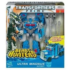Transformers Prime Beast Hunters Ultra Magnus Voyager NEW Sealed | eBay