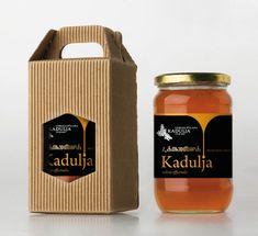 国外新尚蜂蜜品牌包装设计欣赏|美御品牌设计