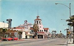 CA Riverside Market Street Greyhound Bus Station 1965