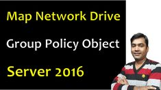 This video shows how to map a network drive using group policy object (gpo) in windows server 2016 domain network. Created By My Pc Support Group Policy, Network Drive, Active Directory, Windows Server, People, People Illustration, Folk