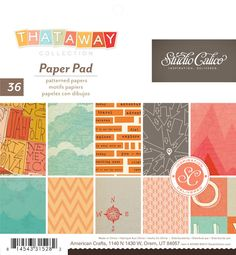 Thataway Paper Pad by Studio Calico