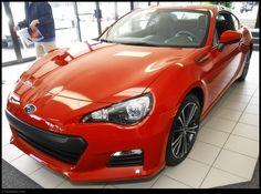 2013 Subaru BRZ! Red Even!