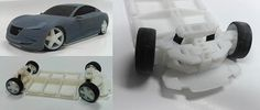 3d printed auto design models