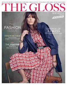Judy Casey - News - The Gloss Magazine March 2017 Model Agency, Lineup, Parisian, Peplum Dress, March, Clothes, Makeup Artists, Dresses, Magazine Covers
