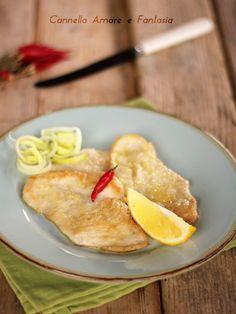 Petto di pollo al limone in padella ricetta