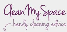 Clean My Space | Blog...  great reference list...  how to clean pillows, small appliances, product reviews etc