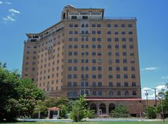 The Baker Hotel. Mineral Wells, Texas. The Baker Hotel was placed on the National Register of Historic Places in 1982. Photo by Andy New.