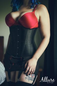 Be the Sexy You Want To Be - All photos registered copyright to Allure by LH Taylor and Lance Taylor Photography  Keywords: beauty, sexy, boudoir, corset, lingerie, natural light, low light, hair, color, bedroom, retro, tattoos, ink, curvy, busty