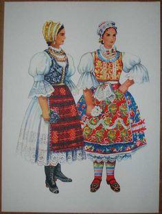 Items similar to SERBIA Ethnic Dress Print Women Traditional Dress Backa Vojvodina Folk Costume Vladimir Kirin Wall Decor on Etsy European Costumes, Costumes Around The World, Folk Clothing, Ethnic Dress, Folk Costume, Historical Costume, Ethnic Fashion, Fashion History, Traditional Dresses